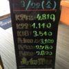 \3/22 本日の貴金属相場を更新いたしました!貴金属は大阪屋!/