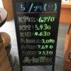 \5/24 本日は日曜日の為変動はございません!貴金属は大阪屋!/