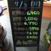 \7/5 本日は土曜日の為、変動はございません!貴金属は大阪屋!/