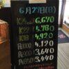 <6/27>高価買取の大阪屋!本日の金プラチナ買取価格をお知らせします!