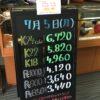 <7/5>高価買取の大阪屋!本日の金プラチナ買取価格をお知らせします!
