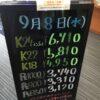<9/8>高価買取の大阪屋!本日の金プラチナ買取価格をお知らせします!