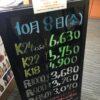 <10/8>高価買取の大阪屋!本日の金プラチナ買取価格をお知らせします!